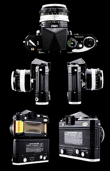 니콘 필름 카메라. 사진=위키백과