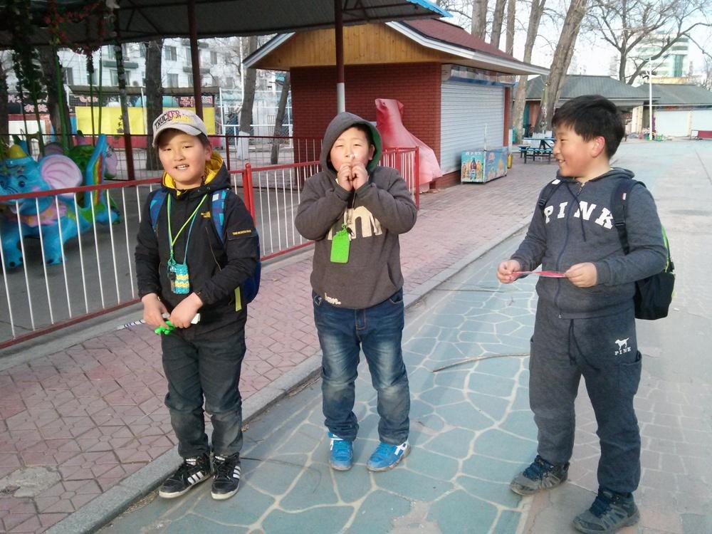 연길공원 어린이 01