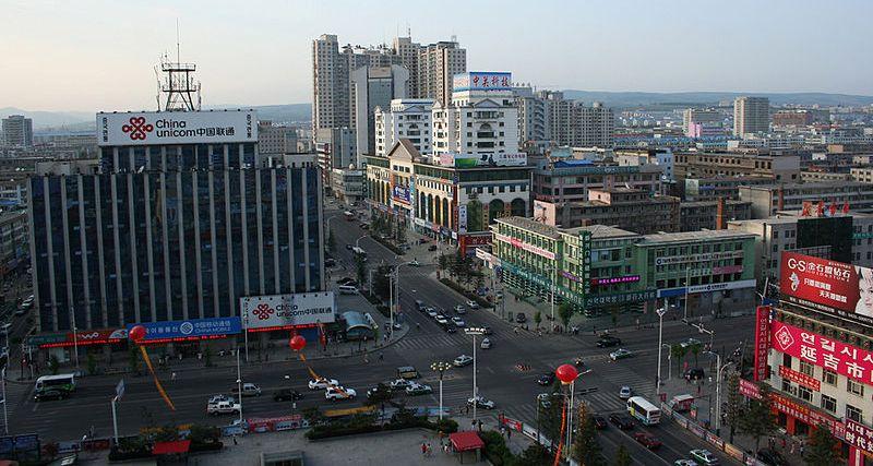 800px-Yanji_city_in_2010