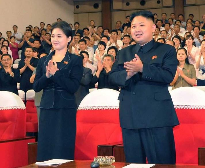 590 북한, 퍼스트레이디 공개