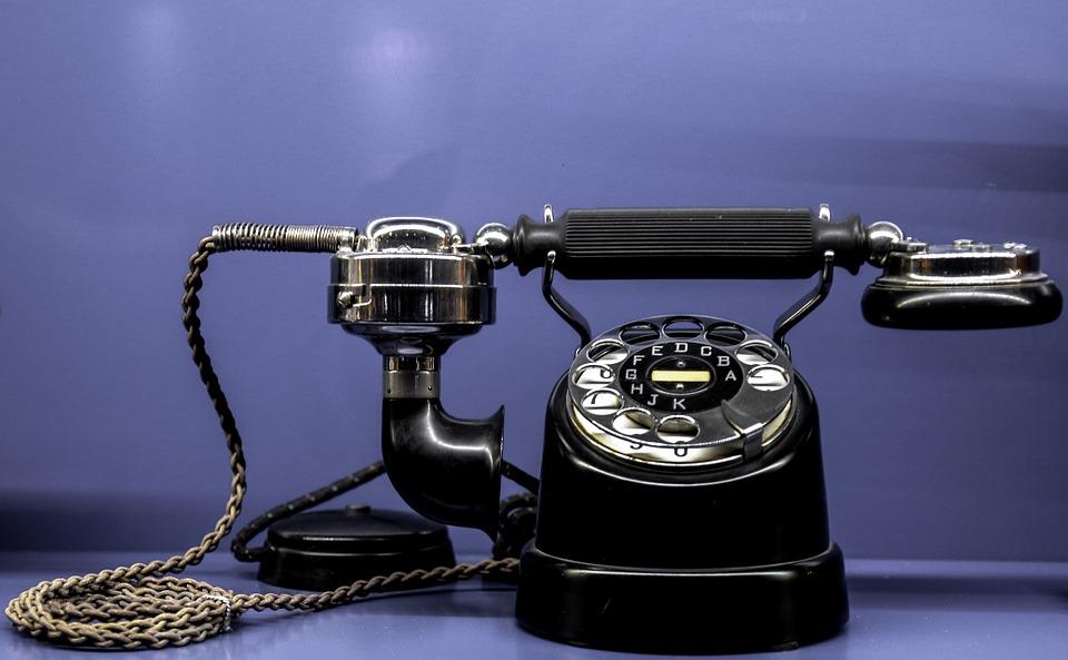 전화 통신 선택 박물관 골동품 향수 토크 phone-735062_960_720