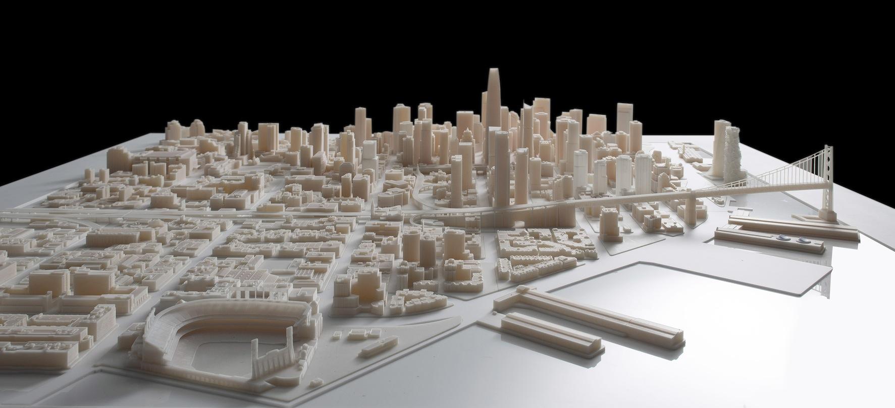3D print city